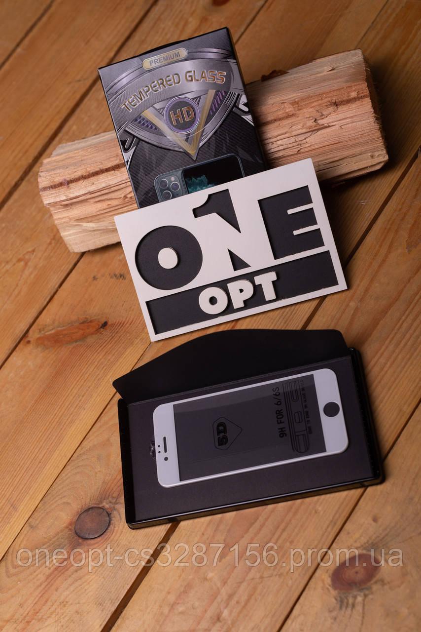 Защитное стекло 5D PREMIUM для iPhone 6/6S Plus Black