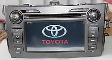 Штатный мультимедийный навигационный комплекс Toyota Corolla 2007-2013