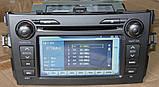 Штатный мультимедийный навигационный комплекс Toyota Corolla 2007-2013, фото 2