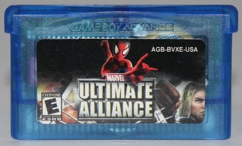 """Картридж на GBA """"ULTIMATE ALLIANCE"""""""