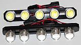Денні ходові вогні (DRL) LED DIY 2x6W, фото 5