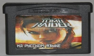"""Картридж на GBA """"LARA CROFT TOMB RAIDER"""""""