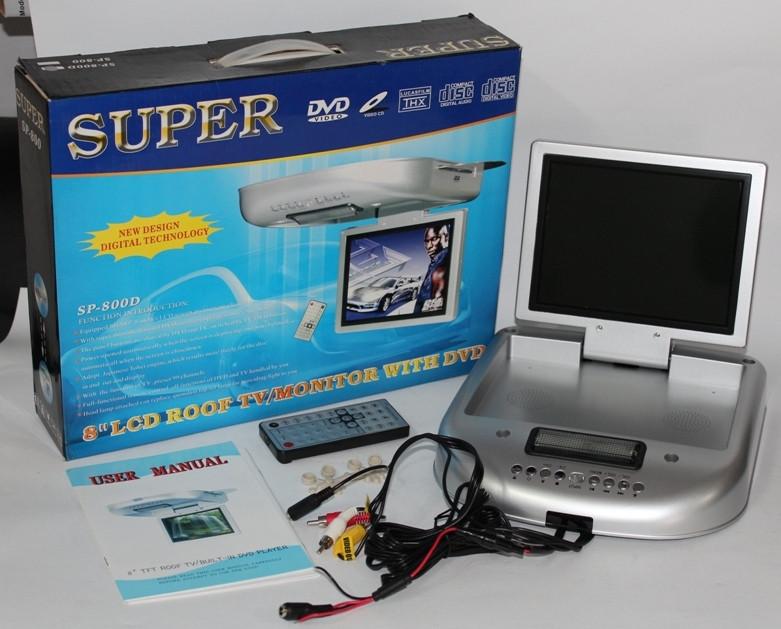 Стельовий автотелевізор Super SP-800