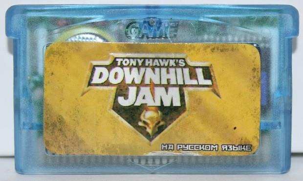 "Картридж на GBA ""DOWNHILL JAM"""