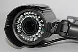 Камера наружного наблюдения (варифокальная) с креплением IP (MHK-N701L-200W), фото 6