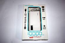 Зовнішній акумулятор Power bank 10000mA Arun Y615