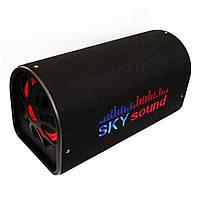 "Активний сабвуфер бочка Sky Sound 6"" Bluetooth 200W з вбудованим підсилювачем (4_00489)"