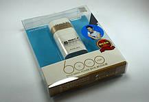 Зовнішній акумулятор Power bank 10000mA Arun Y302