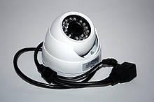 Камера внутреннего наблюдения с возможностью подключения микрофона купольная IP (MHK-N361SA-200W)