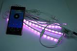 Підсвічування салону авто RGB з управлінням по Bluetooth, фото 2