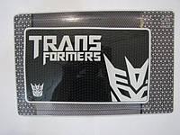 Автомобильный коврик липучка Transformers (210x125)