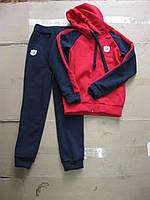 Спортивный теплый костюм 3-х нитка с начесом  для деток 134. 140 см Украина