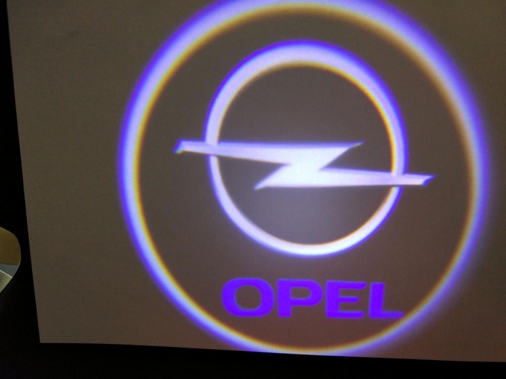 Подсветка дверей штатная для Opel