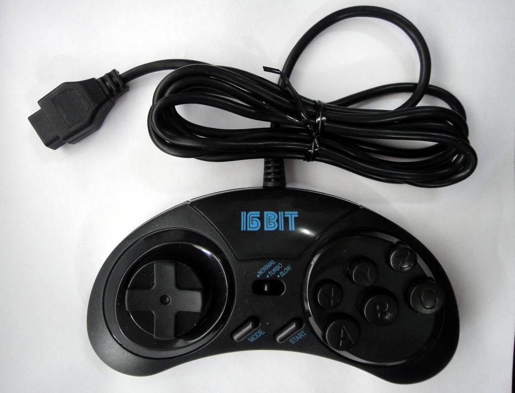 Джойстик для приставки Sega 16-бит Turbo