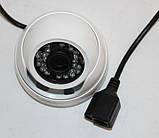 Камера внутреннего наблюдения купольная IP (MHK-N361K-200W), фото 7