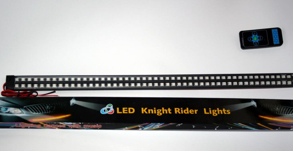DRL RGB двухрядный рыцарь дорог цвет синий или красный