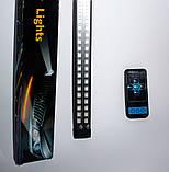DRL RGB двухрядный рыцарь дорог цвет синий или красный, фото 3