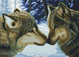 Алмазная вышивка Белоснежка «Два волка»260-ST-S, фото 2
