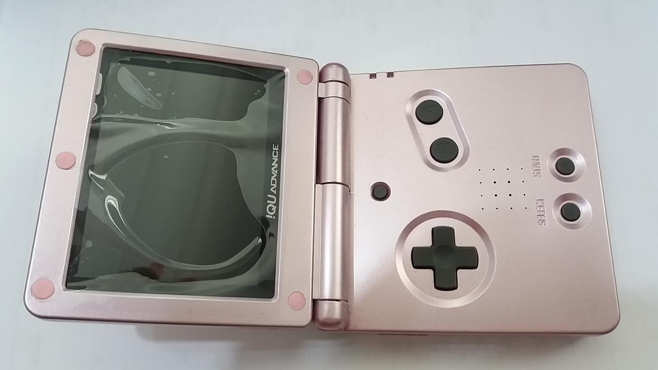 Game Boy Advance (розовый) SP+TFT переходник