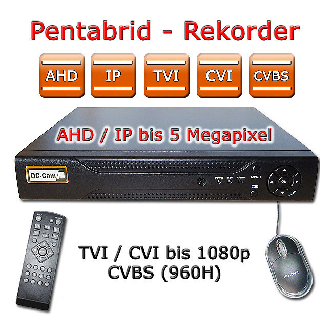AHD видеорегистратор на 4 камеры MHK-A6608GS