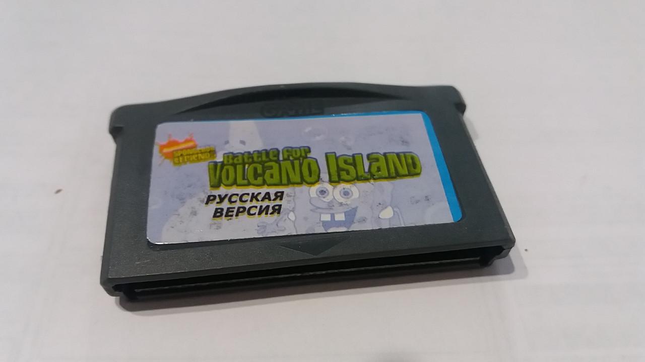 "Картридж на GBA  ""Nicktoons - Battle For Volcano Island"""