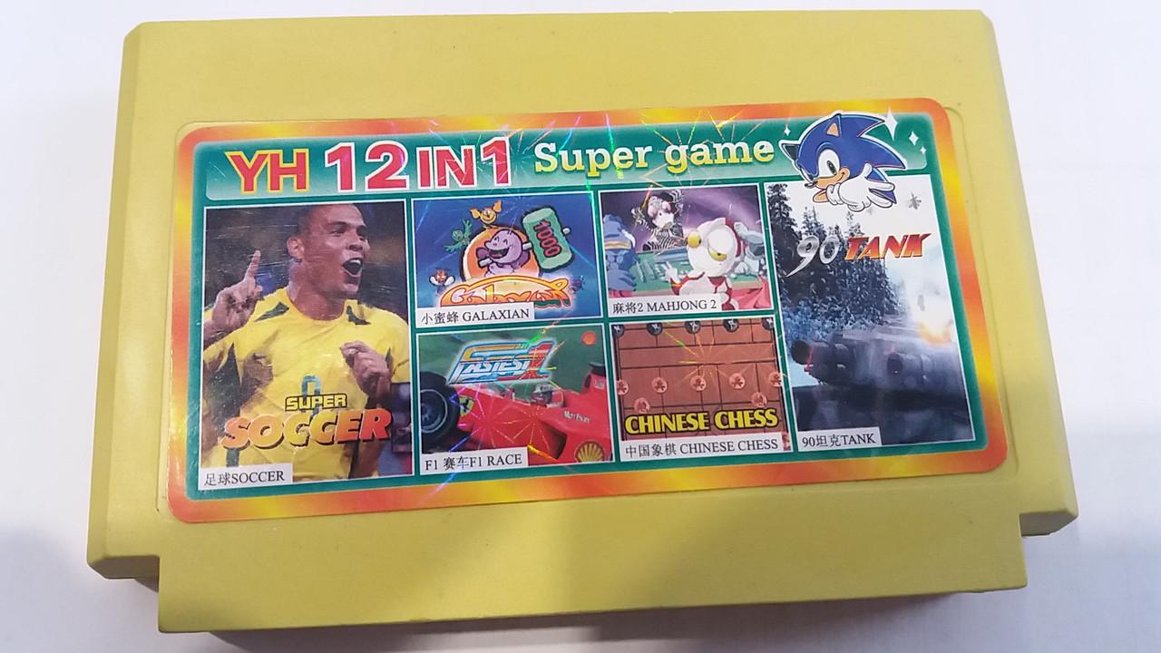 Сборник игр денди  YH 12in1