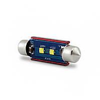 LED автоламп лід діодний C5W, CANBUS, обманка, білий, 31 мм, 36 мм, 39 мм, 41 мм