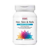 GNC, Витамины для женщин Womens Hair Skin Nails Formula, 120 таблеток