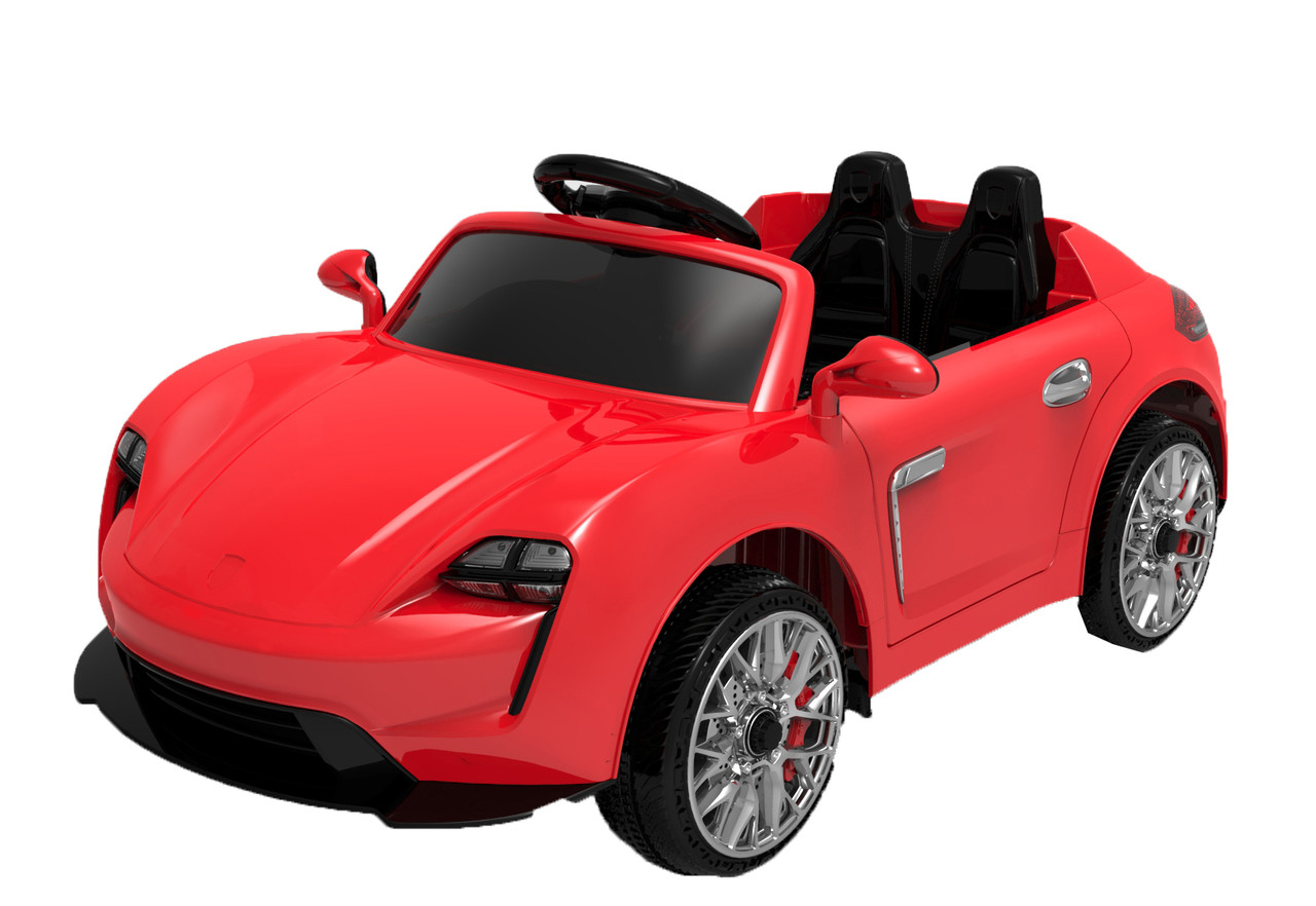 Ел-мобіль FL1718 EVA RED легковий на Bluetooth 2.4G Р/У 2*6V4.5AH мотор 2*25W 110*57*49 /1/