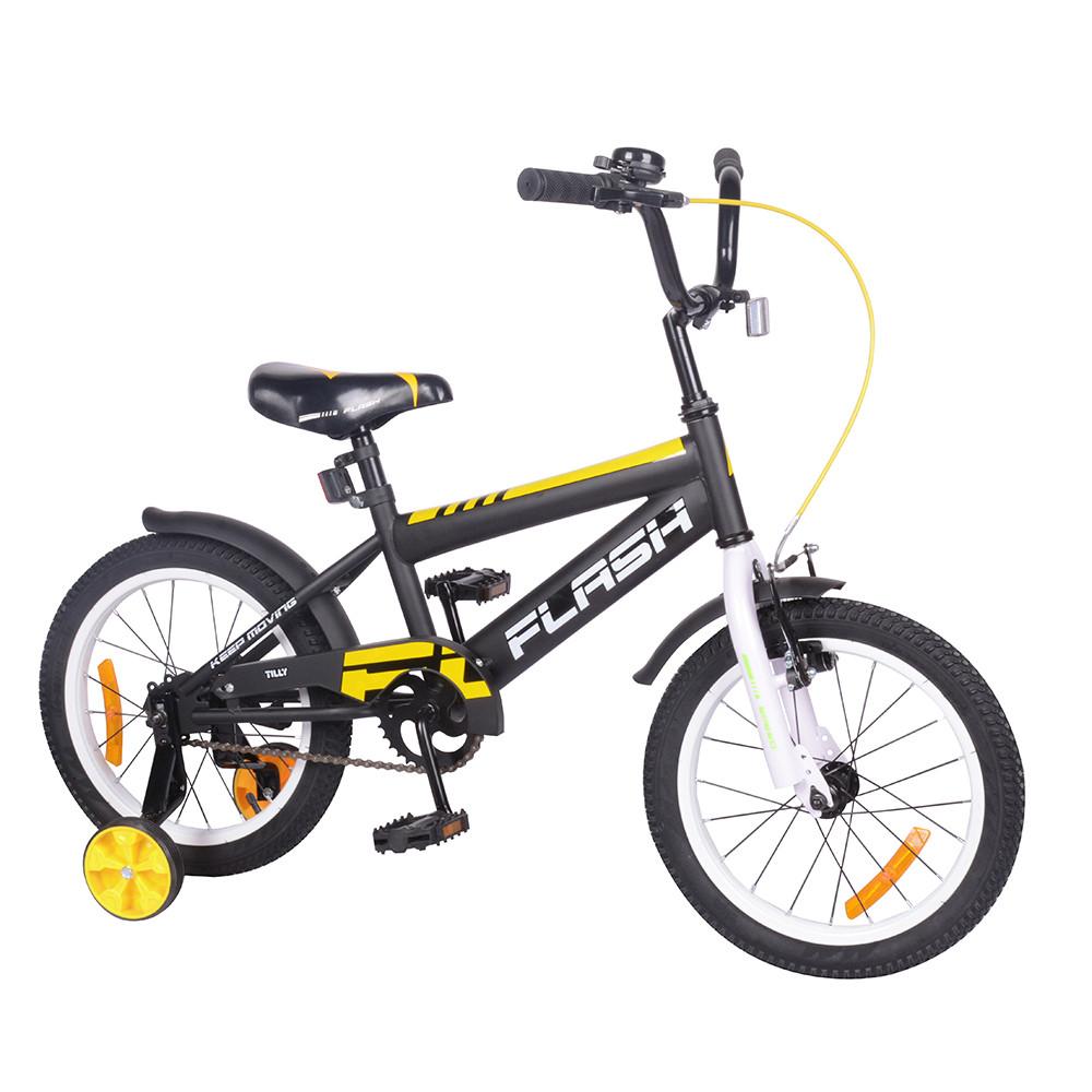 "Велосипед FLASH 16"" T-21648 white /1/"