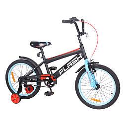 "Велосипед FLASH 18"" T-21847 blue /1/"