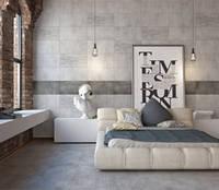 KENDAL плитка облицовочная серая 300х600 для ванной, кухни, коридора, для стен и пола