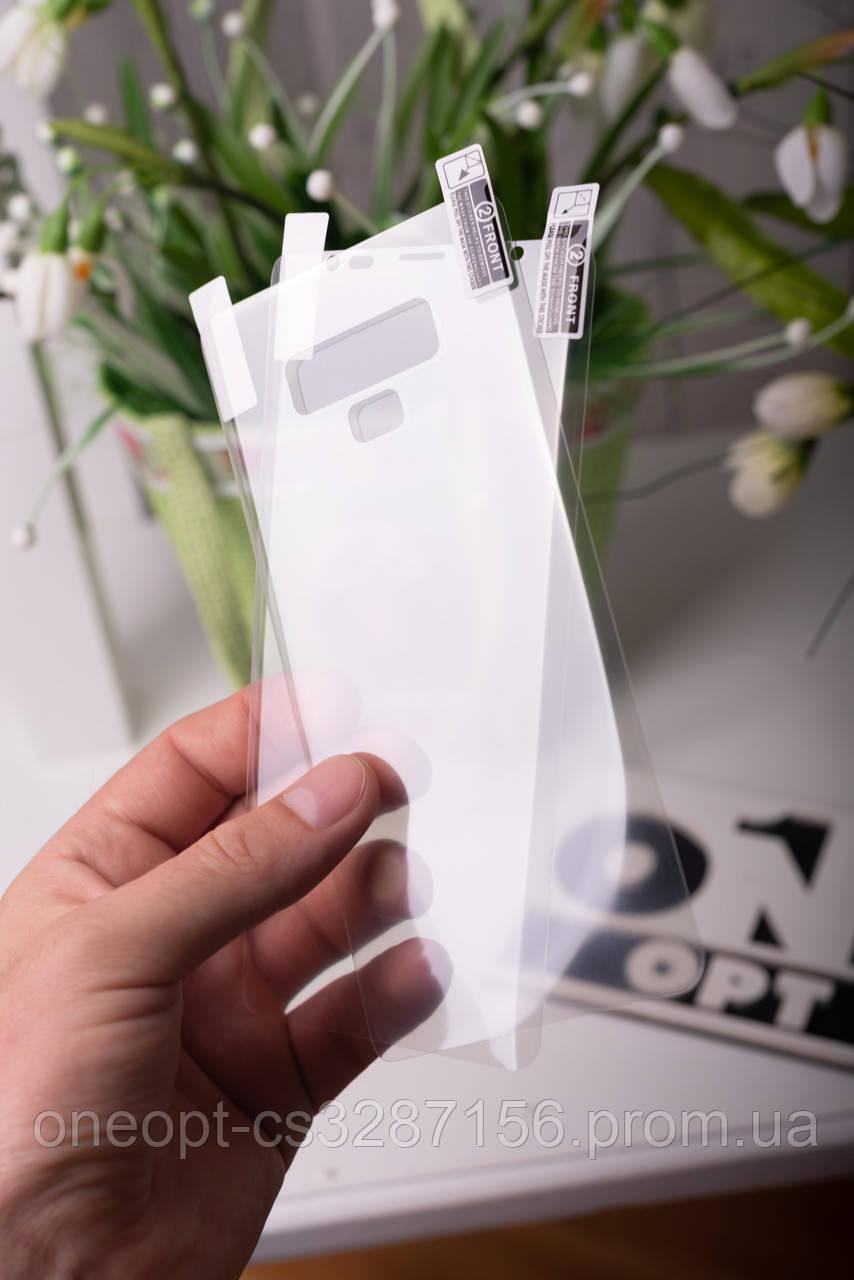 Полиуретановая мягкая плёнка Front+Back для Samsung S10