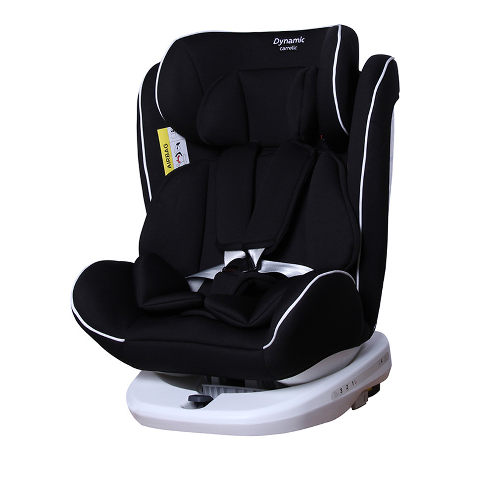 Автокрісло CARRELLO Dynamic CRL-13802 Cosmos Black 0+1+2+3 ISOFIX з поворотом /2/