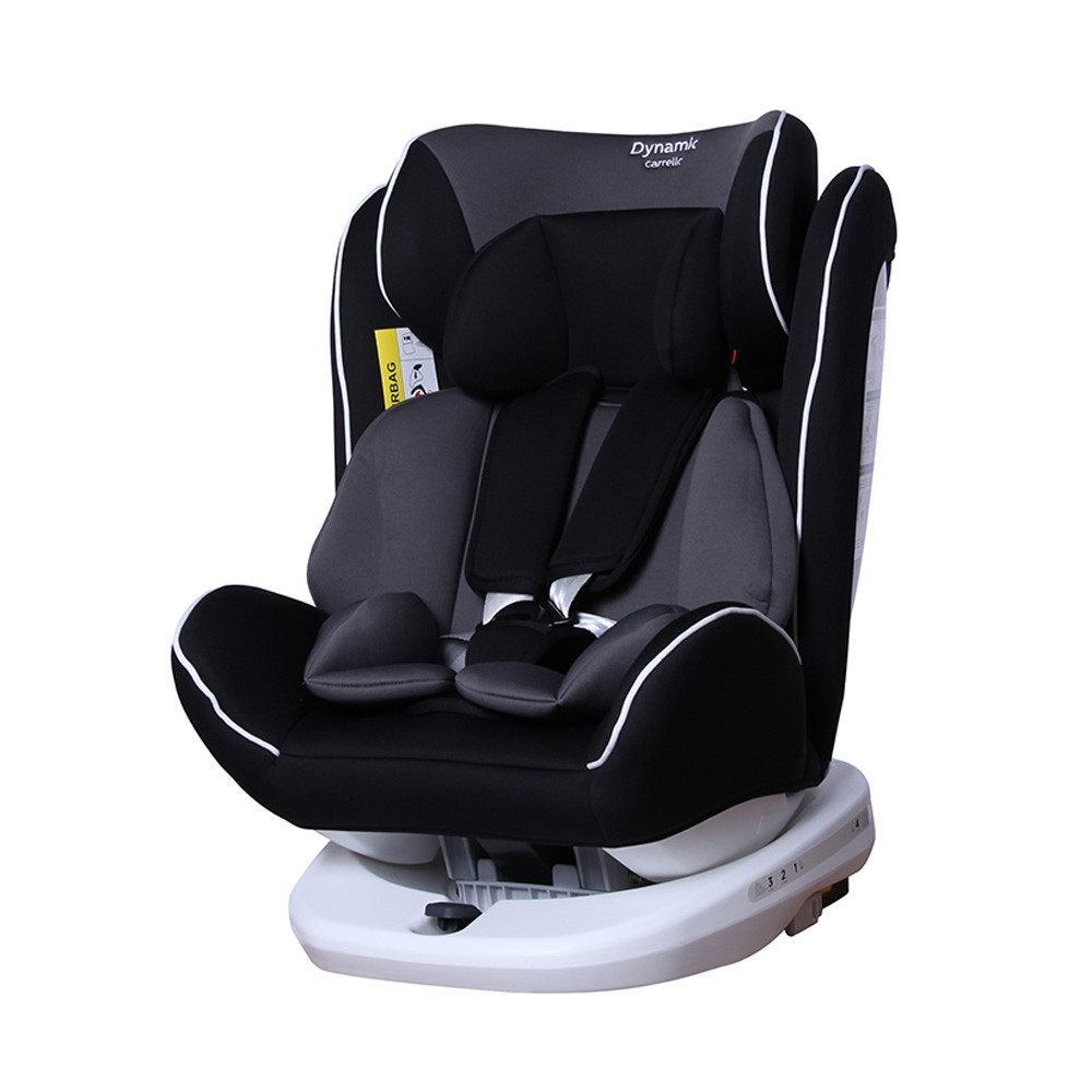 Автокрісло CARRELLO Dynamic CRL-13802 Carbon Grey 0+1+2+3 ISOFIX з поворотом /2/