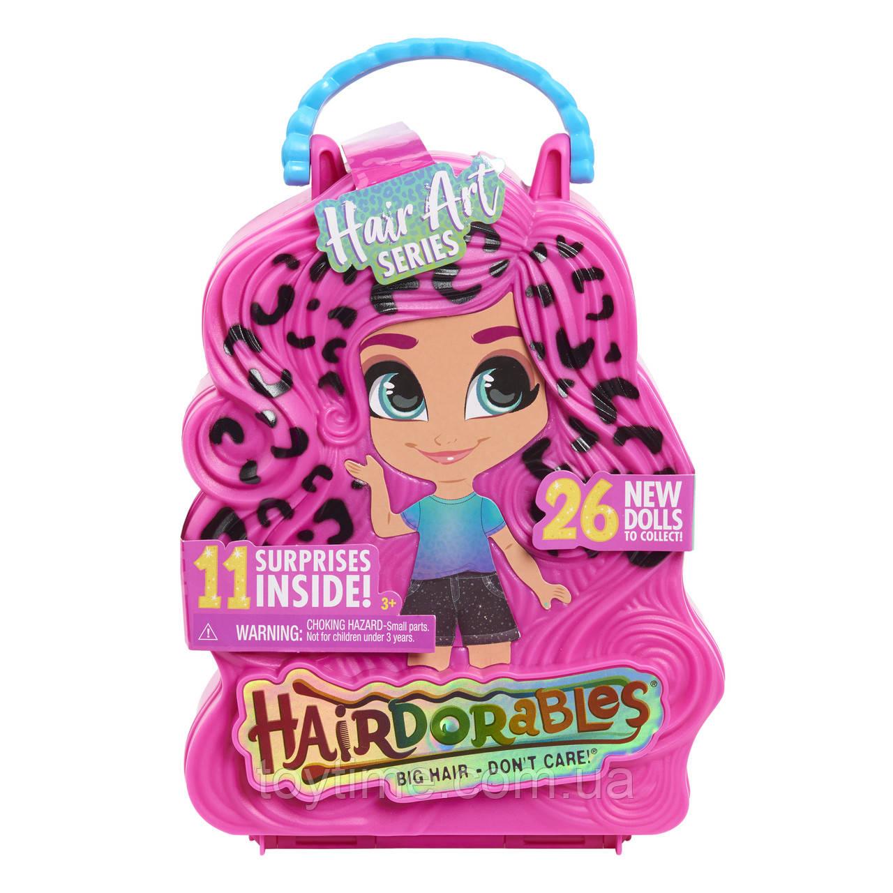 Куколки Хейрдораблес Хеир Арт серия 5 / Hairdorables Collectible Dolls Hair Art Series 5