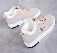 Женские теплые кроссовки. Модель 41030, фото 7