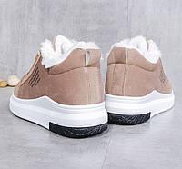 Женские теплые кроссовки. Модель 41030, фото 3