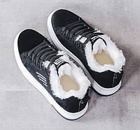 Женские теплые кроссовки. Модель 41030, фото 5