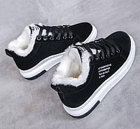 Женские теплые кроссовки. Модель 41030, фото 4