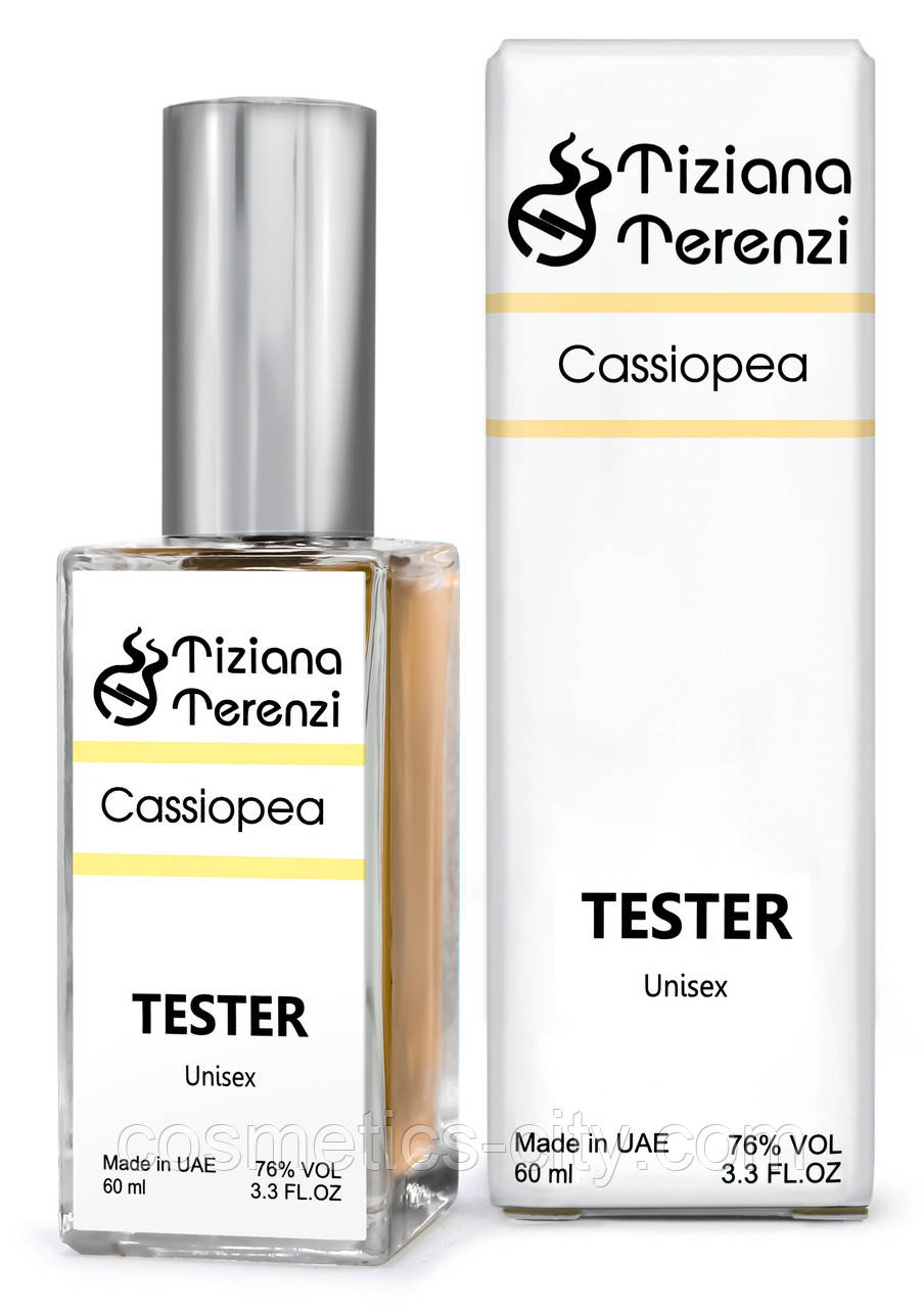 Тестер DUTYFREE унисекс Tiziana Terenzi Luna Collection Cassiopea, 60 мл.