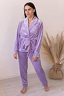 Женская пижама с штанами V.Velika. Расцветки, фото 3