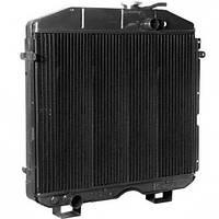 Радиатор ПАЗ-3025 основной 3-х рядный медный