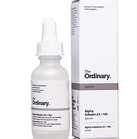 The Ordinary Alpha Arbutin 2%+HA Сыворотка с Альфа Арбутином 2% и гиалуроновой кислотой