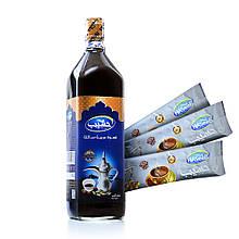 Бедуинский жидкий кофе Haseeb 1 литр X 2 ( в фирменной коробке +подарок)