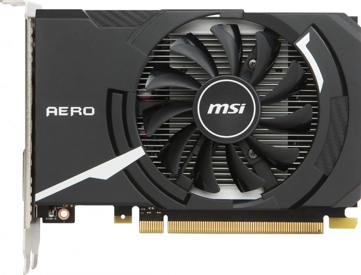 Відеокарта MSI GeForce GT 1030 AERO ITX 2G OC  2GB GDDR5 (64bit) (1265/6008) (DVI, HDMI) (GT 1030 AERO ITX 2G