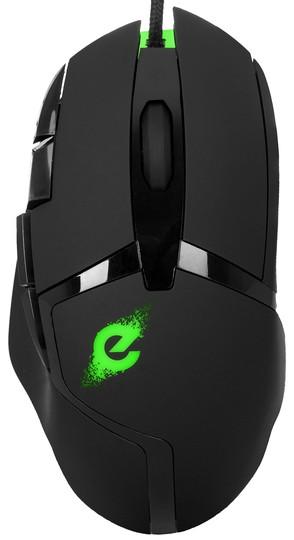 Миша ERGO NL-850 USB оптична, 1200/ 1600/ 2400/ 3200,  чорна (код 115829)