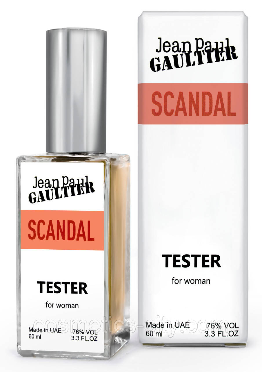 Тестер DUTYFREE женский Jean Paul Gaultier Scandal, 60 мл.