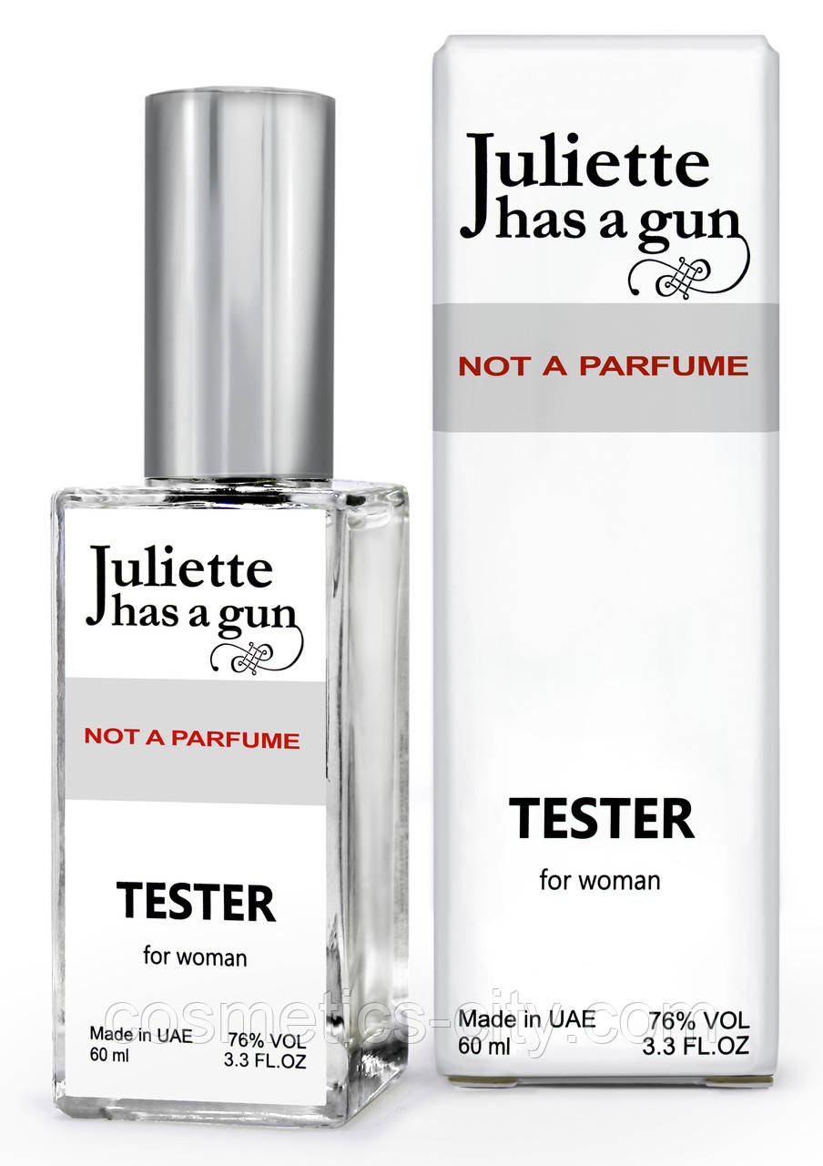 Тестер DUTYFREE женский Juliette has a Gun not a Perfume, 60 мл.
