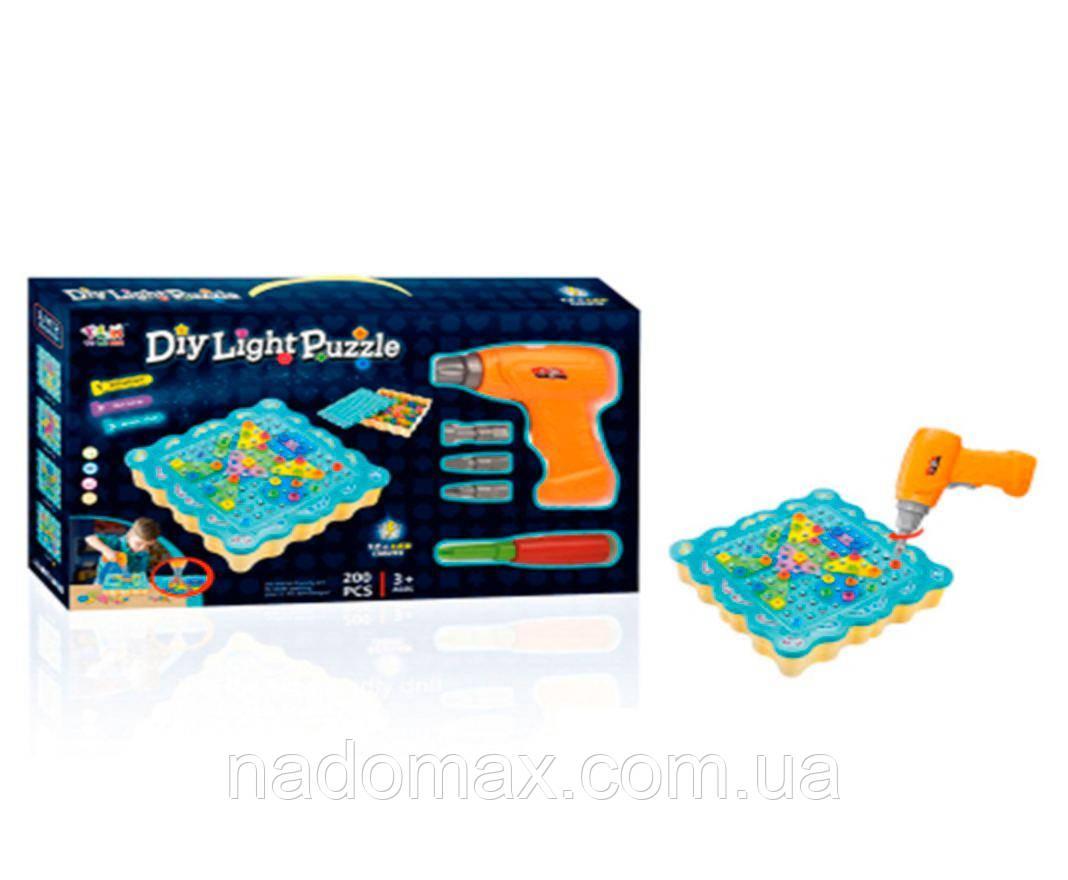 Конструктор DIY Light Puzzle 200 деталей